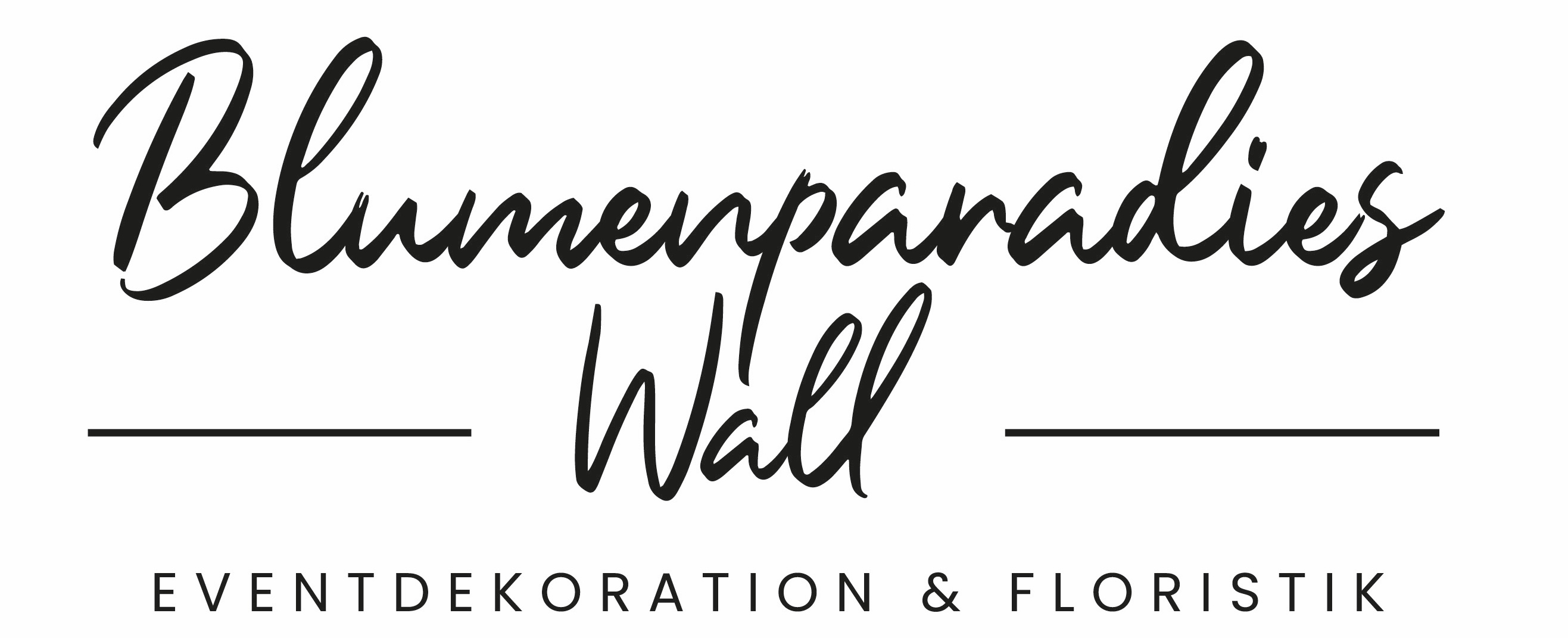 Blumenparadies Wall - Shop